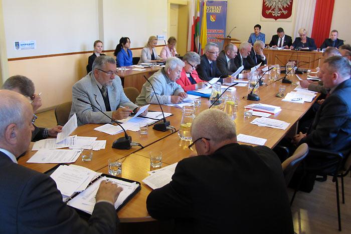 Ilustracja do informacji: VII sesja Rady Powiatu
