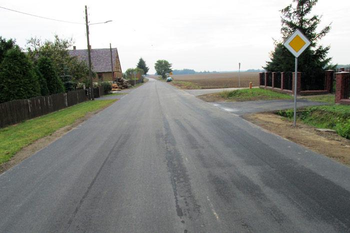 Ilustracja do informacji: Droga powiatowa wyremontowana