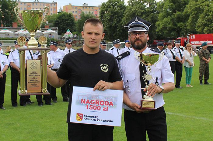 Ilustracja do informacji: Strażacy - ochotnicy rywalizowali w Lubsku