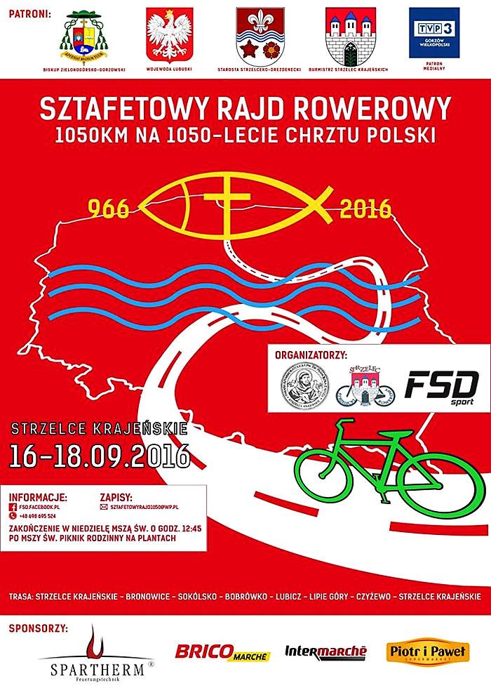 Ilustracja do informacji: Zaproszenie na rajd rowerowy