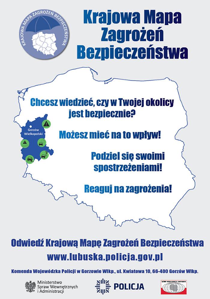 Ilustracja do informacji: Mapa zagrożeń bezpieczeństwa