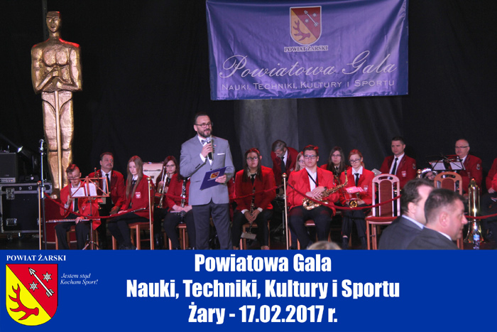 Ilustracja do informacji: Powiatowa Gala Nauki, Techniki, Kultury i Sportu