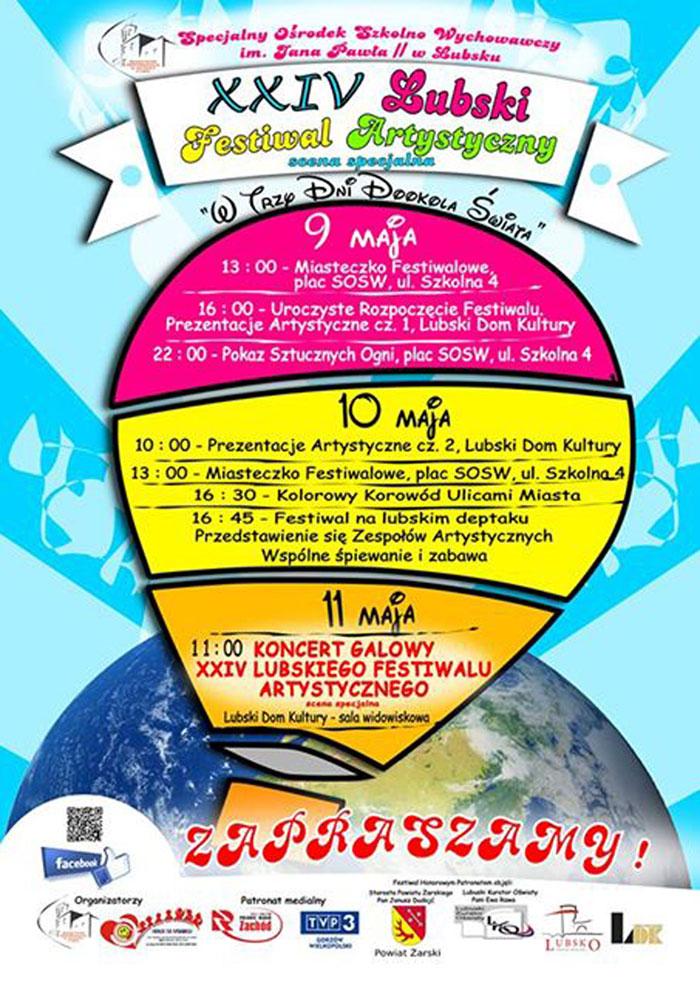 Ilustracja do informacji: XXIV Lubski Festiwal Artystyczny