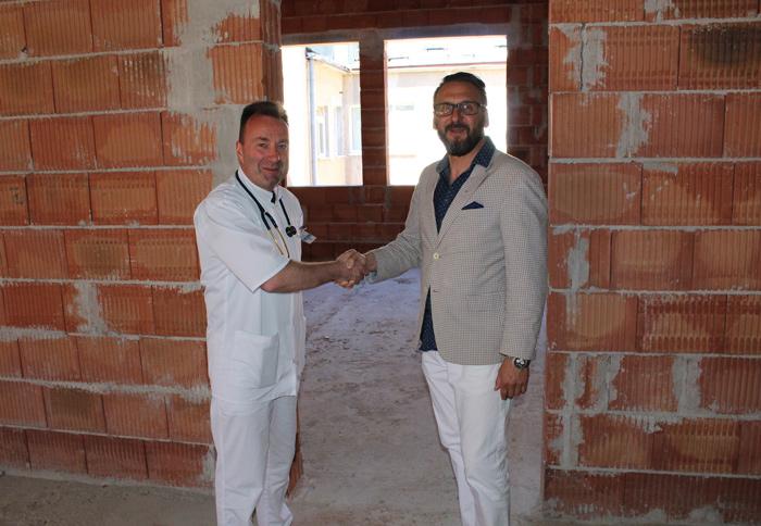 Ilustracja do informacji: Marzenia się spełniają! Powiatowy Szpital Na Wyspie rozbudowuje się