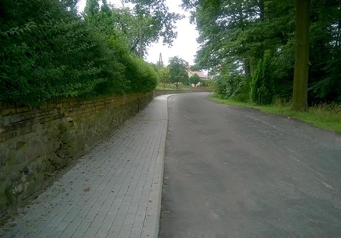 Ilustracja do informacji: Chodnik w Lubanicach wymieniony!