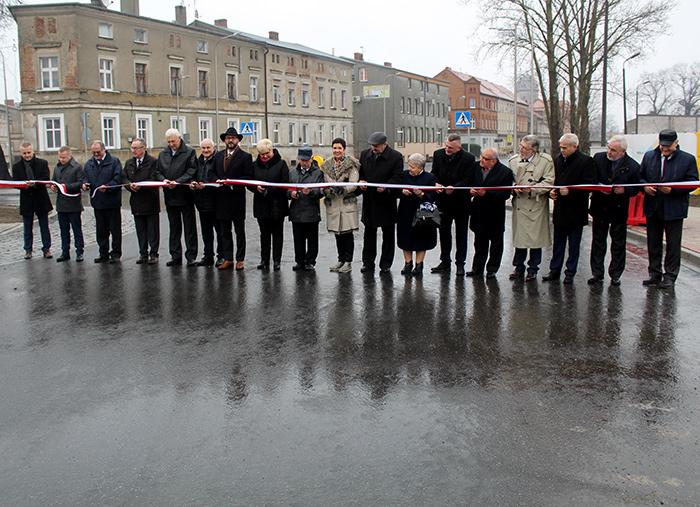 Ilustracja do informacji: Rondo na ul. Moniuszki już przejezdne!