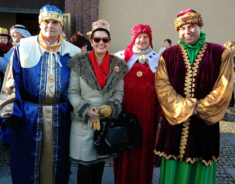 Ilustracja do informacji: Orszak Trzech Króli w Żarach