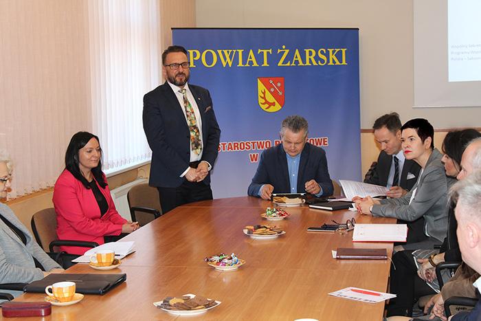 Ilustracja do informacji: Spotkanie w ramach programu Interreg Polska - Saksonia
