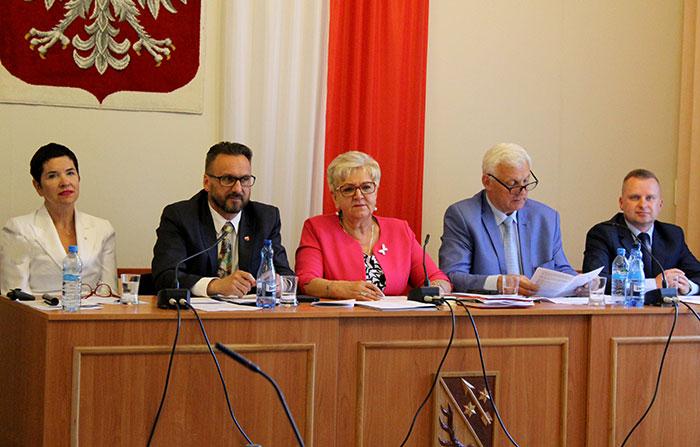 Ilustracja do informacji: XXXVIII sesja Rady Powiatu Żarskiego