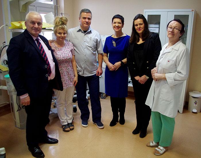 Ilustracja do informacji: Wielka Orkiestra Świątecznej Pomocy zagrała dla powiatowego Szpitala Na Wyspie w Żarach!