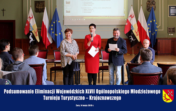 Ilustracja do informacji: Podsumowanie Eliminacji Wojewódzkich XLVII Ogólnopolskiego Młodzieżowego Turnieju Turystyczno - Krajoznawczego