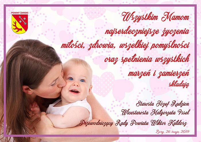 Ilustracja do informacji: Życzenia z okazji Dnia Matki
