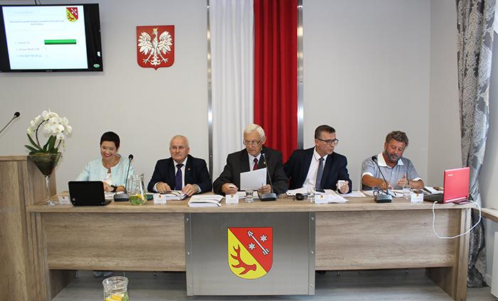 Ilustracja do informacji: IX sesja Rady Powiatu Żarskiego