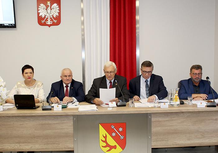 Ilustracja do informacji: XI sesja Rady Powiatu Żarskiego