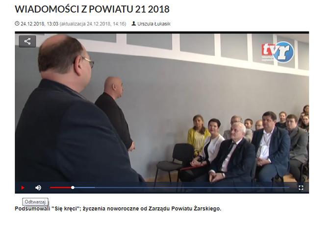 Ilustracja do informacji: WIADOMOŚCI Z POWIATU 21/2018