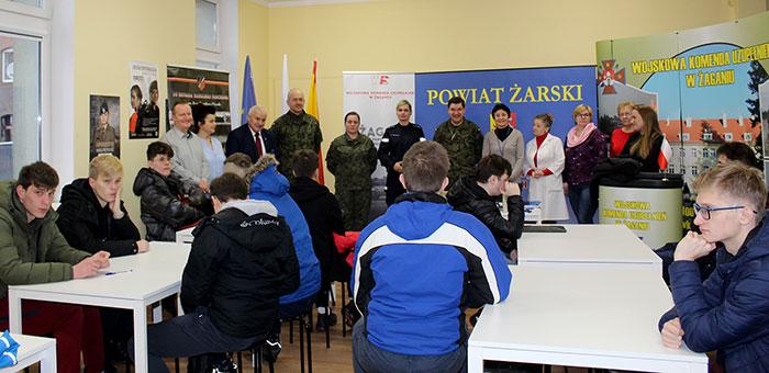 Ilustracja do informacji: Rozpoczęcie kwalifikacji wojskowej w Powiecie Żarskim