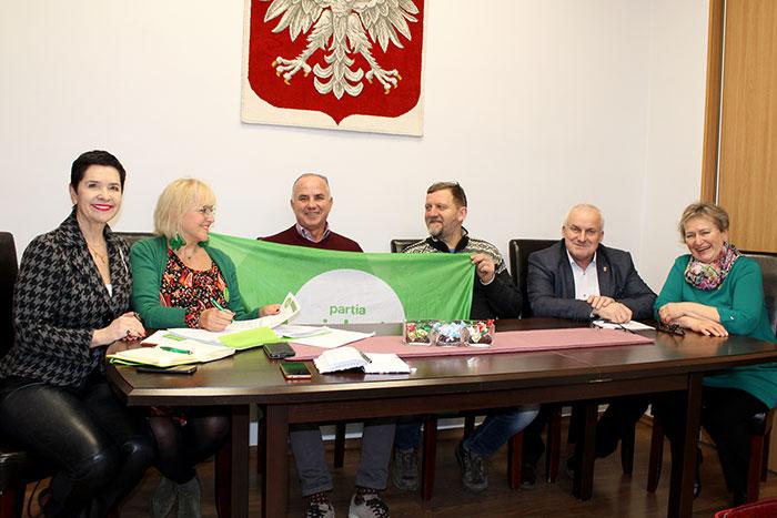 Ilustracja do informacji: Spotkanie z przedstawicielami Partii Zieloni