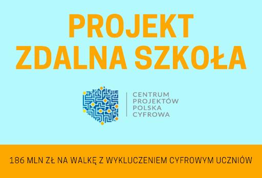 Ilustracja do informacji: Podpisanie umowy z Centrum Projektów Polska Cyfrowa na powierzenie grantu.