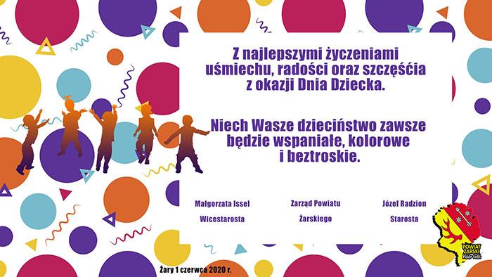 Ilustracja do informacji: Życzenia z okazji Dnia Dziecka!