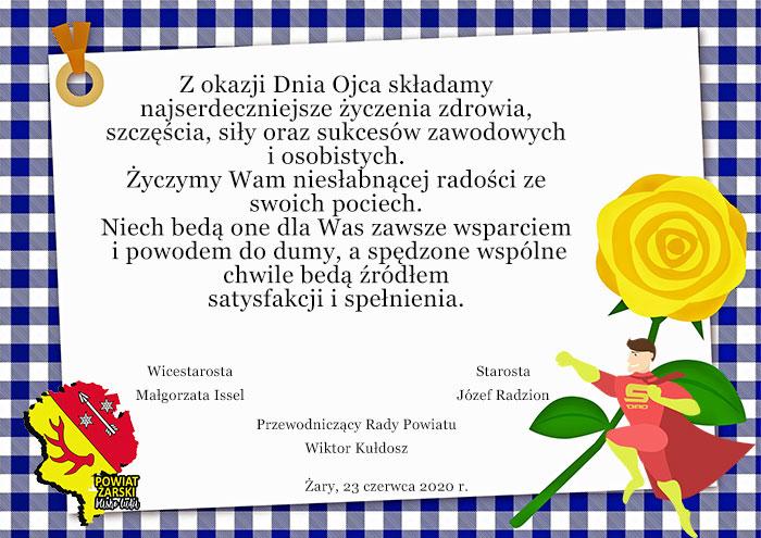 Ilustracja do informacji: Życzenia z okazji Dnia Ojca!