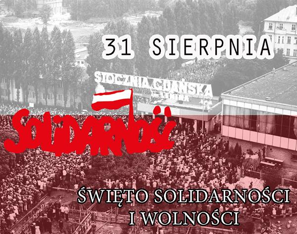 Ilustracja do informacji: Święto Solidarności i Wolności