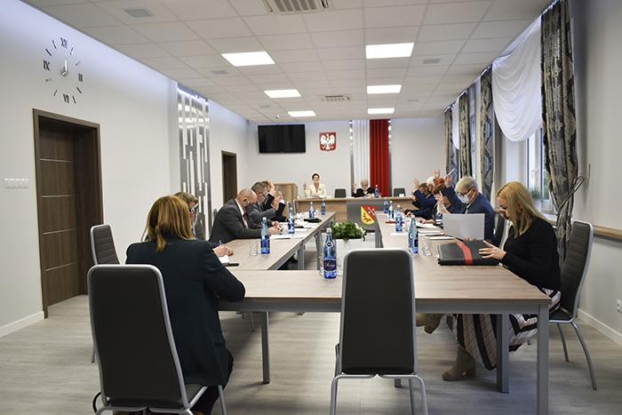 Ilustracja do informacji: Posiedzenie Komisji Stałych Rady Powiatu Żarskiego