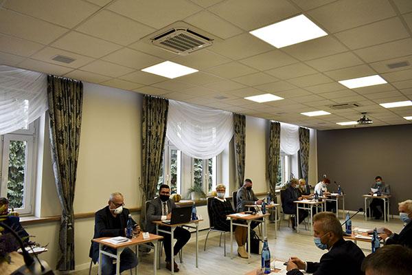 Ilustracja do informacji: XVIII Sesja Rady Powiatu Żarskiego