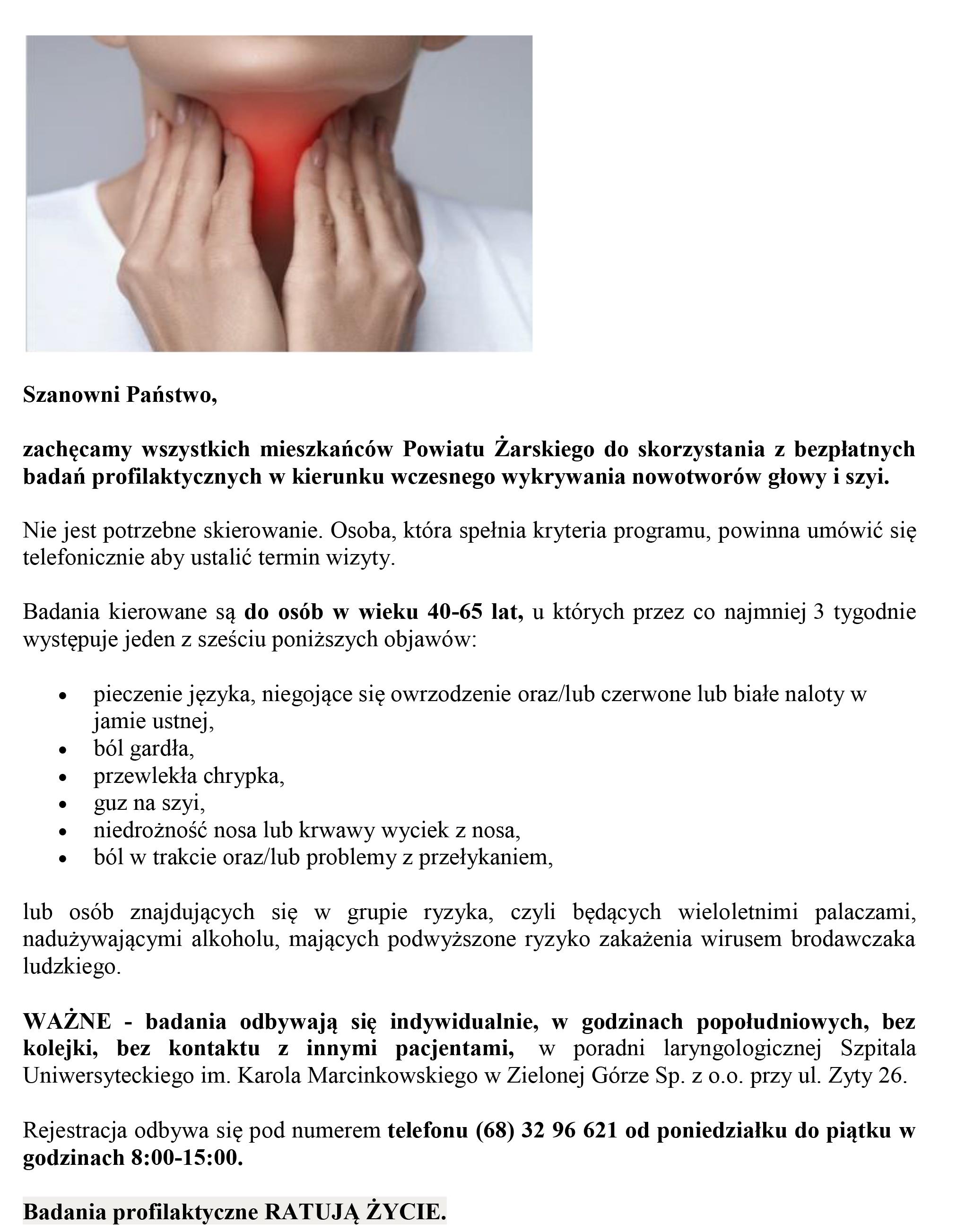 Ilustracja do informacji: Bezpłatne badania profilaktyczne