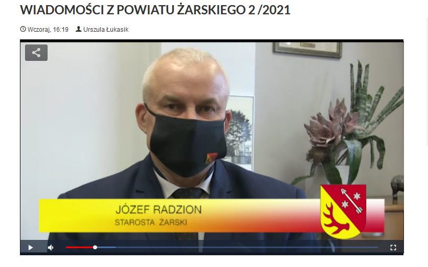 Ilustracja do informacji: WIADOMOŚCI Z POWIATU ŻARSKIEGO 2 /2021