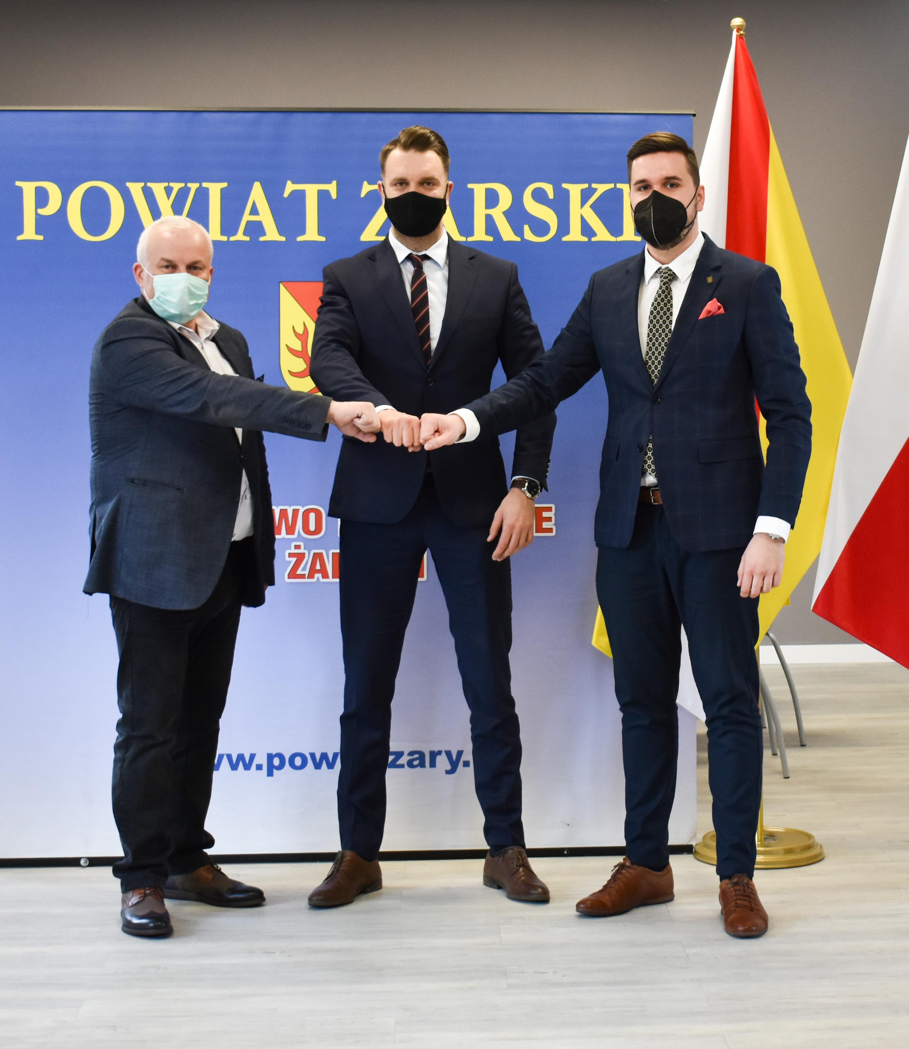 Ilustracja do informacji: Wspólnie dla dobra Powiatu Żarskiego – rozmowy z Posłem na Sejm RP