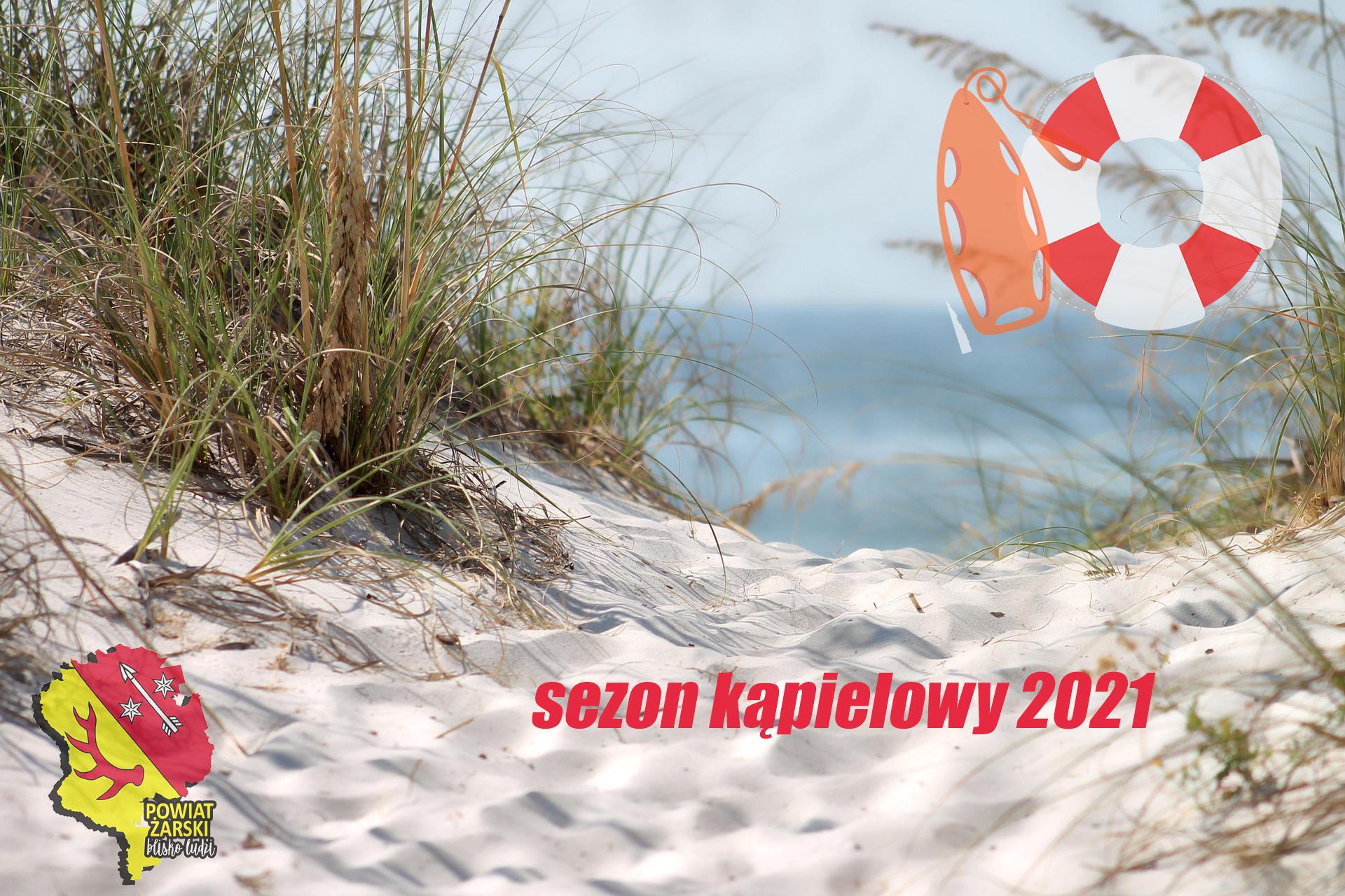 Ilustracja do informacji: Komunikat dotyczący kąpielisk na terenie Województwa Lubuskiego - sezon kąpielowy 2021