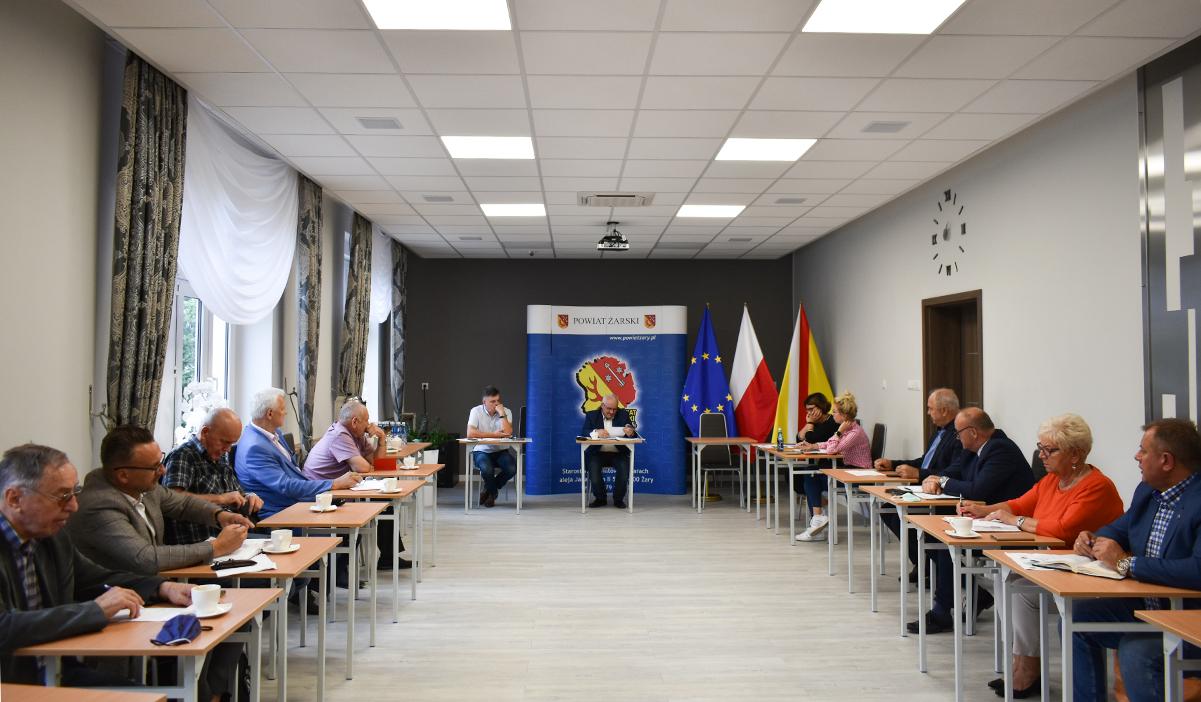 Ilustracja do informacji: Posiedzenie Zarządu i Komisji Rewizyjnej Oddziału Powiatowego Związku Ochotniczych Straży Pożarnych RP