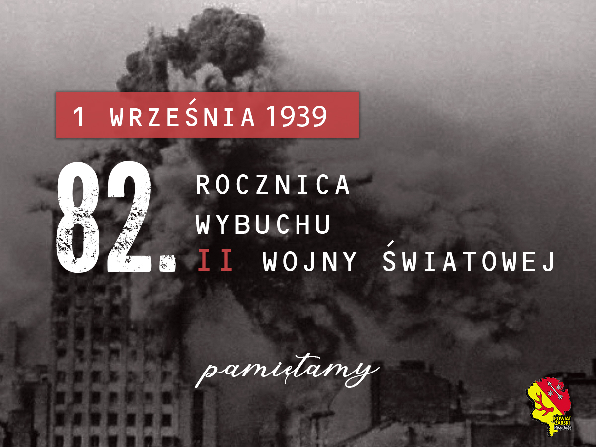 Ilustracja do informacji: 82. rocznica wybuchu II Wojny Światowej