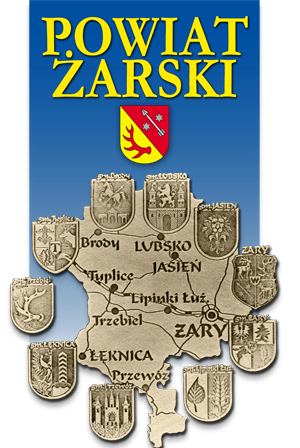 Logo: Powiat Żarski